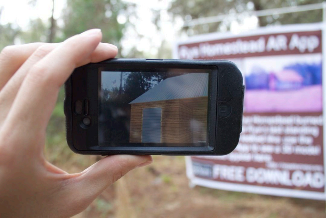 Augmented Reality for archaeology at Rye Nature Preserve in Manatee County, Florida